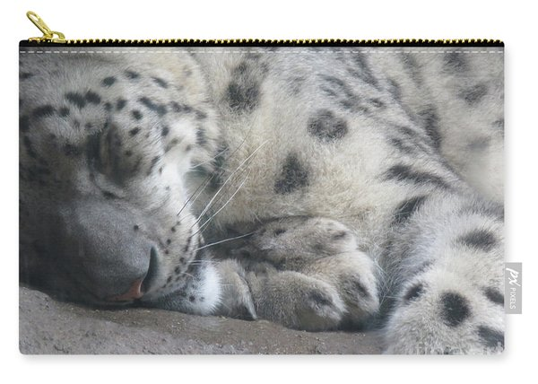 Sleeping Cheetah Carry-all Pouch