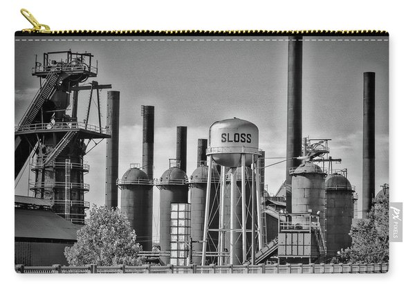 Sloss Furnaces Towers Carry-all Pouch