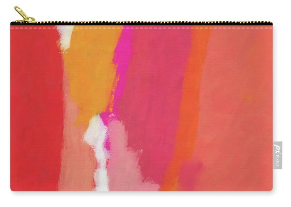 Slow Burn- Abstract Art By Linda Woods Carry-all Pouch