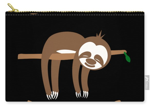 Slow Down Sloth Carry-all Pouch