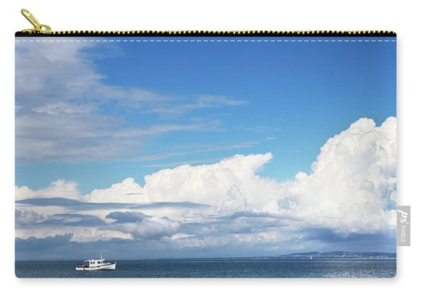Small Boat And Big Sky Carry-all Pouch