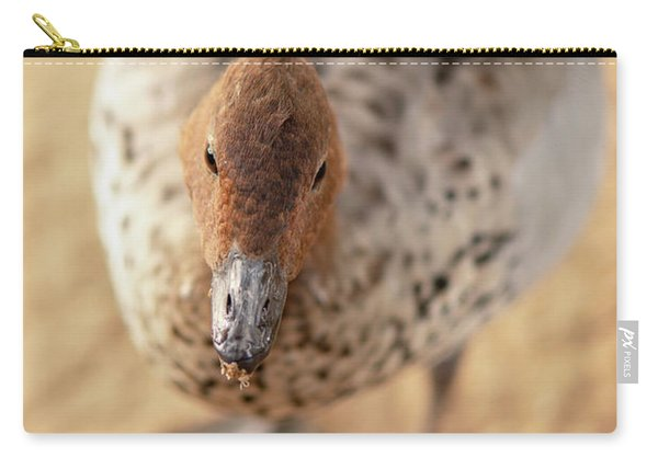 Small Duck On The Farm Carry-all Pouch