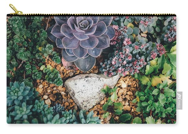 Small Succulent Garden Carry-all Pouch