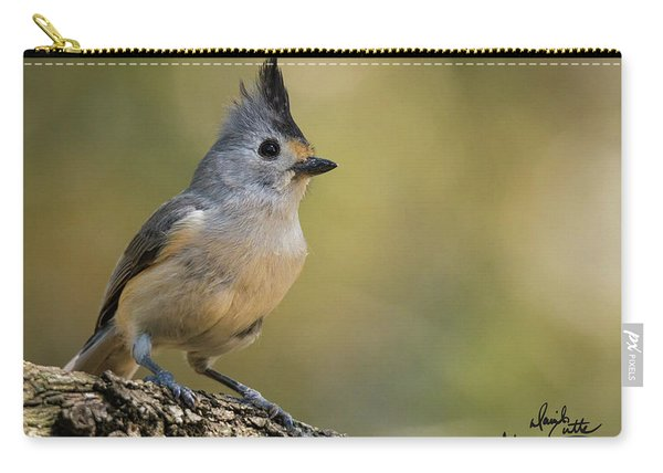 Small Titmouse Carry-all Pouch