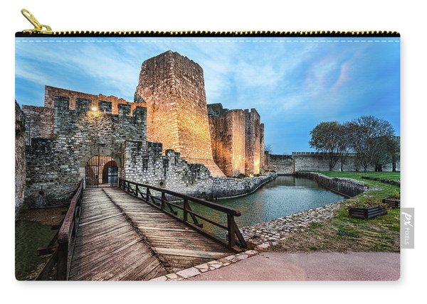 Smederevo Fortress Gate And Bridge Carry-all Pouch