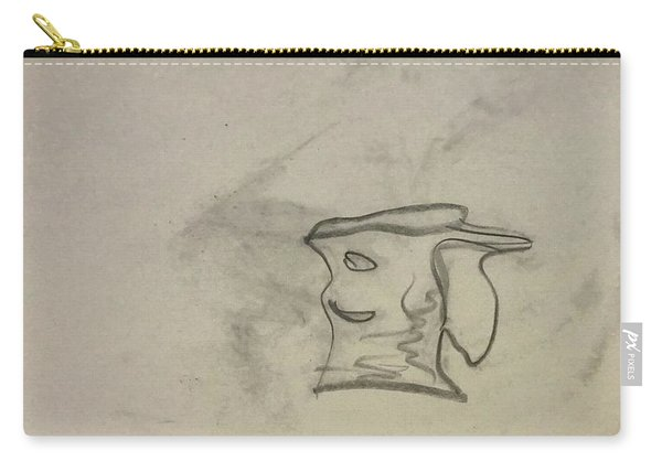 Smiling Bowl Sketch Carry-all Pouch