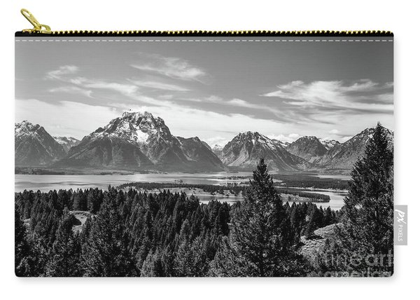Snake River Teton Mountains Carry-all Pouch