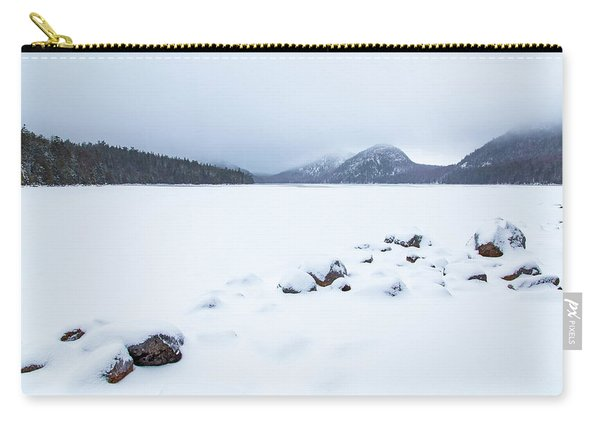 Snow Cover Jordan Pond Carry-all Pouch