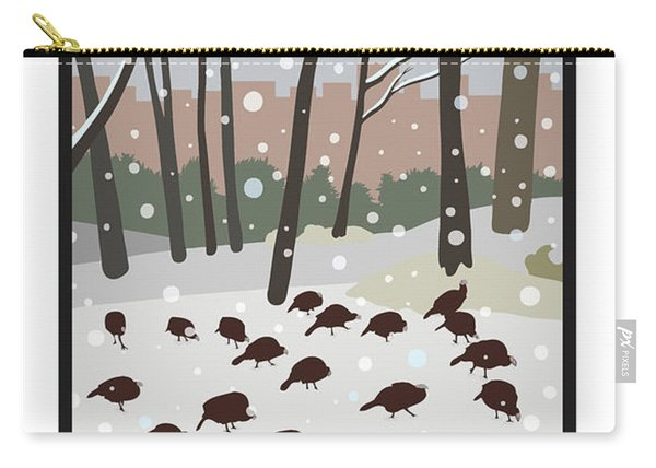 Snow Day In Hopkinton Carry-all Pouch