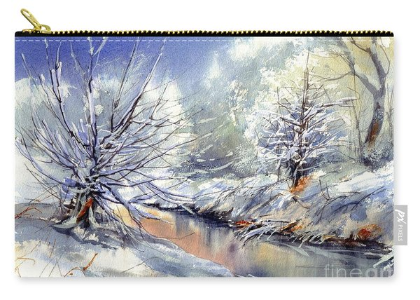 Snow Flurry Carry-all Pouch