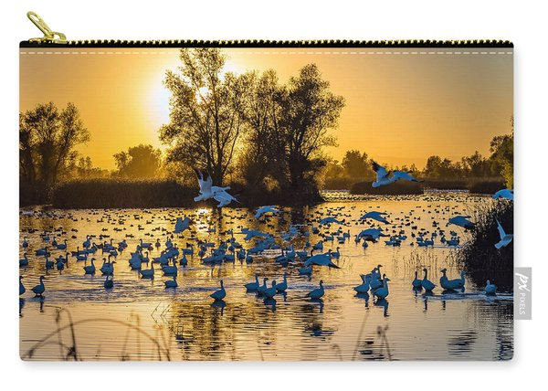 Snow Geese Carry-all Pouch