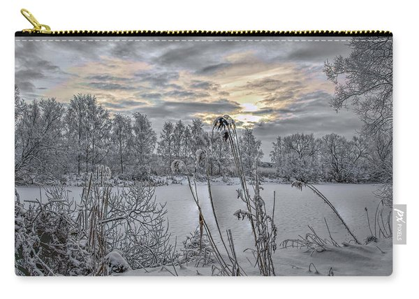 Snow #i3 Carry-all Pouch
