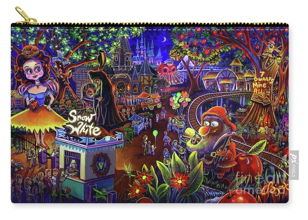 Snow White Amusement Park Carry-all Pouch