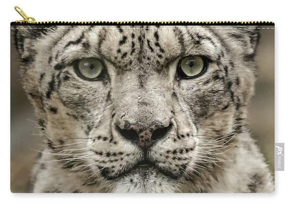 Snowleopardfacial Carry-all Pouch