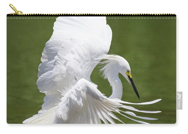 Snowy Dance Carry-all Pouch