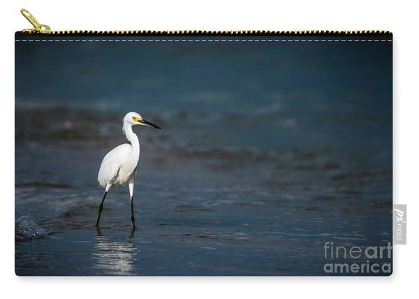 Snowy In The Surf Carry-all Pouch