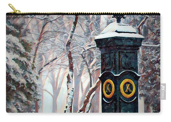 Snowy Keeneland Carry-all Pouch