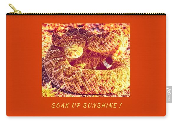 Soak Up Sunshine Carry-all Pouch