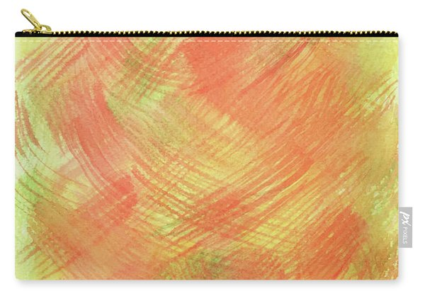 Soft Orange Colors 2 Carry-all Pouch