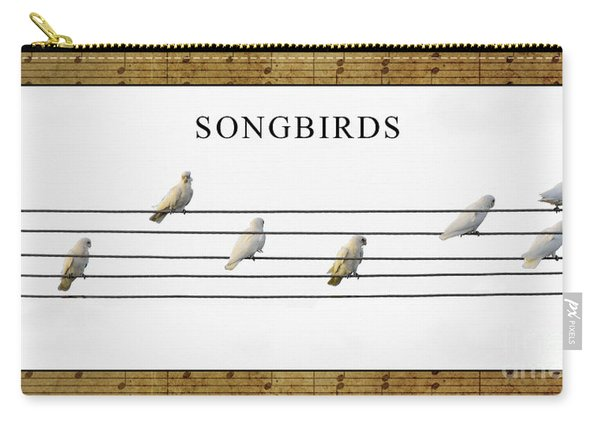 Songbirds Carry-all Pouch