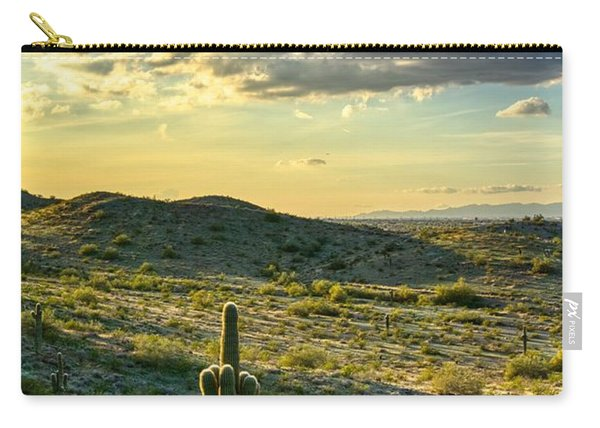 Sonoran Desert Portrait Carry-all Pouch
