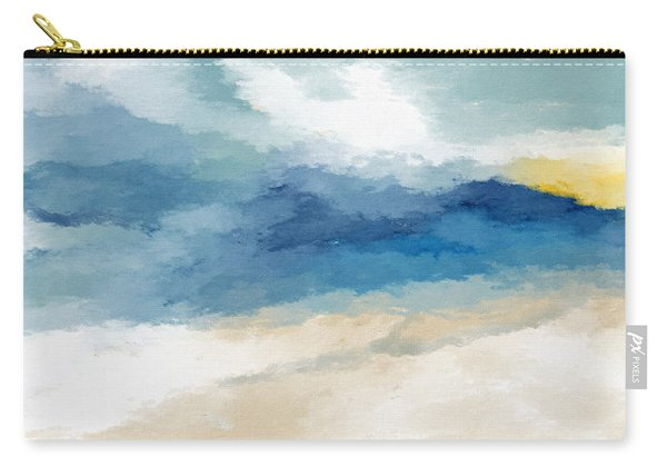 Soothing Memory- Art By Linda Woods Carry-all Pouch