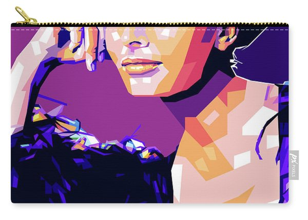 Sophia Loren Pop Art Carry-all Pouch