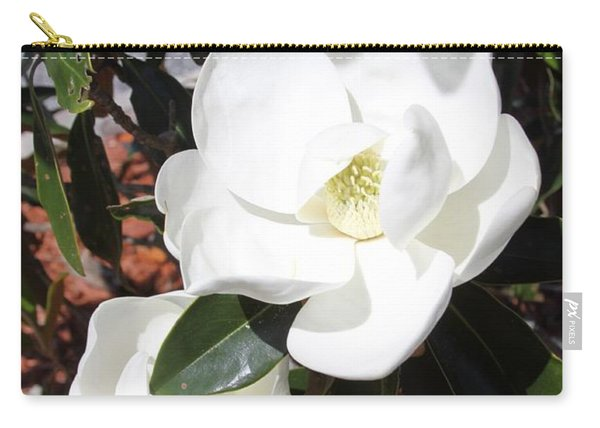 Sosouthern Magnolia Blossoms Carry-all Pouch