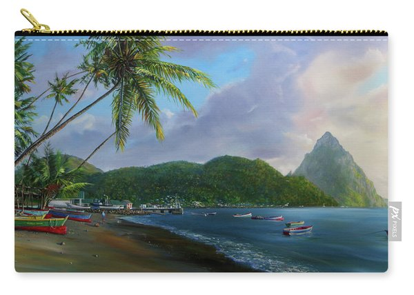 Soufriere Beach Carry-all Pouch