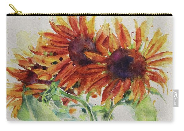 Soulflowers Carry-all Pouch