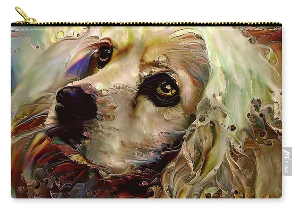 Soulful Cocker Spaniel Carry-all Pouch
