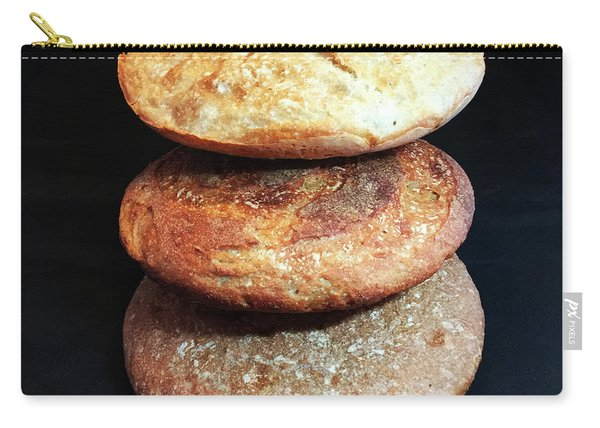 Sourdough Bread Stack 2 Carry-all Pouch