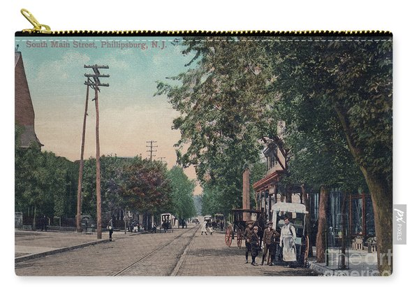 South Main Street Phillipsburg N J Carry-all Pouch
