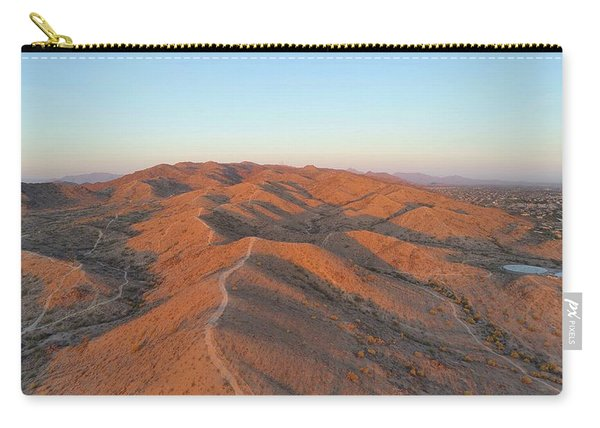 South Mountain Sunrise Carry-all Pouch