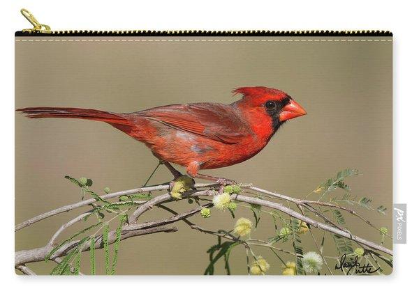 South Texas Cardinal Carry-all Pouch