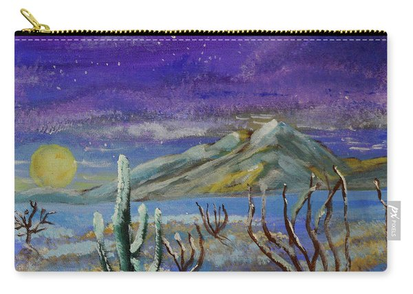 Southern Arizona Winter Magic  Carry-all Pouch