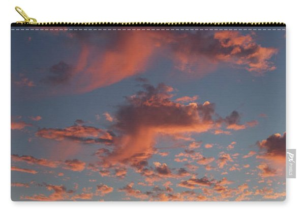 Space Needle And Pink Clouds Carry-all Pouch