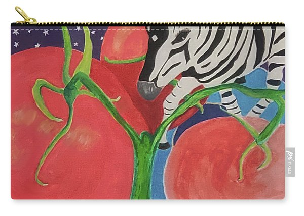 Space Zebra Carry-all Pouch