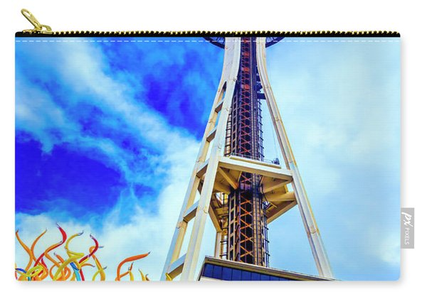 Spaceneedle High In The Clouds Carry-all Pouch