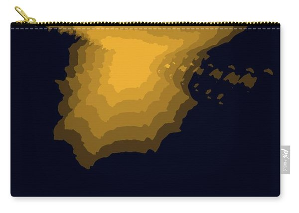 Spain Radiant Map 1 Carry-all Pouch