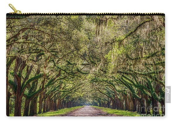 Spanish Moss Tree Tunnel Carry-all Pouch