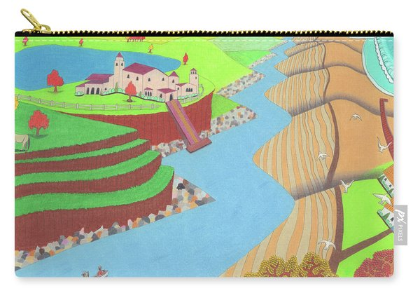 Spanish Wells Carry-all Pouch
