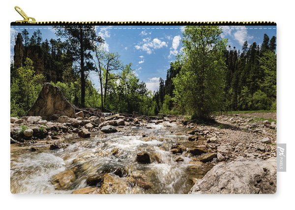 Spearfish Creek And Canyon, South Dakota Carry-all Pouch
