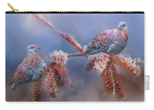 Speckled Pigeons Carry-all Pouch