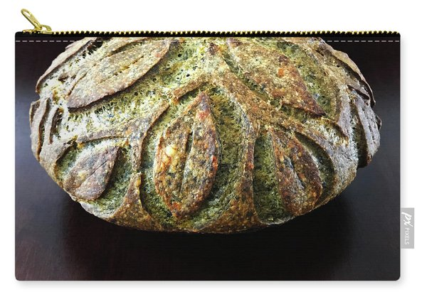 Spicy Spinach Sourdough 2 Carry-all Pouch