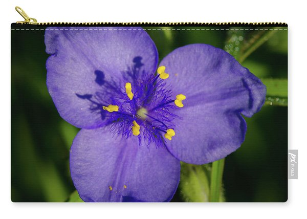 Spiderwort Flower Carry-all Pouch