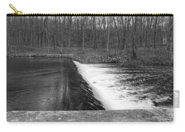Spillway At Waterloo Village Carry-all Pouch