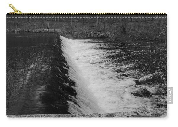 Spillway In Detail - Waterloo Village Carry-all Pouch