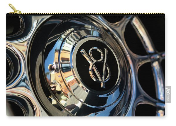 Spinning V8 Carry-all Pouch