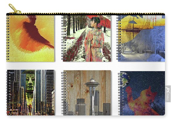 Spiral Notebooks Samples Carry-all Pouch
